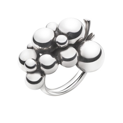 Georg Jensen MOONLIGHT GRAPES ring - 3558700 Sølv 59