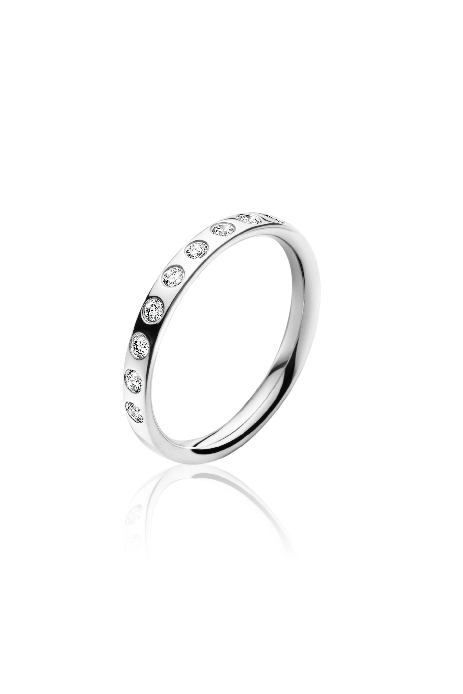 Georg Jensen MAGIC ring - 3569900 Hvg / 0,18 ct 53