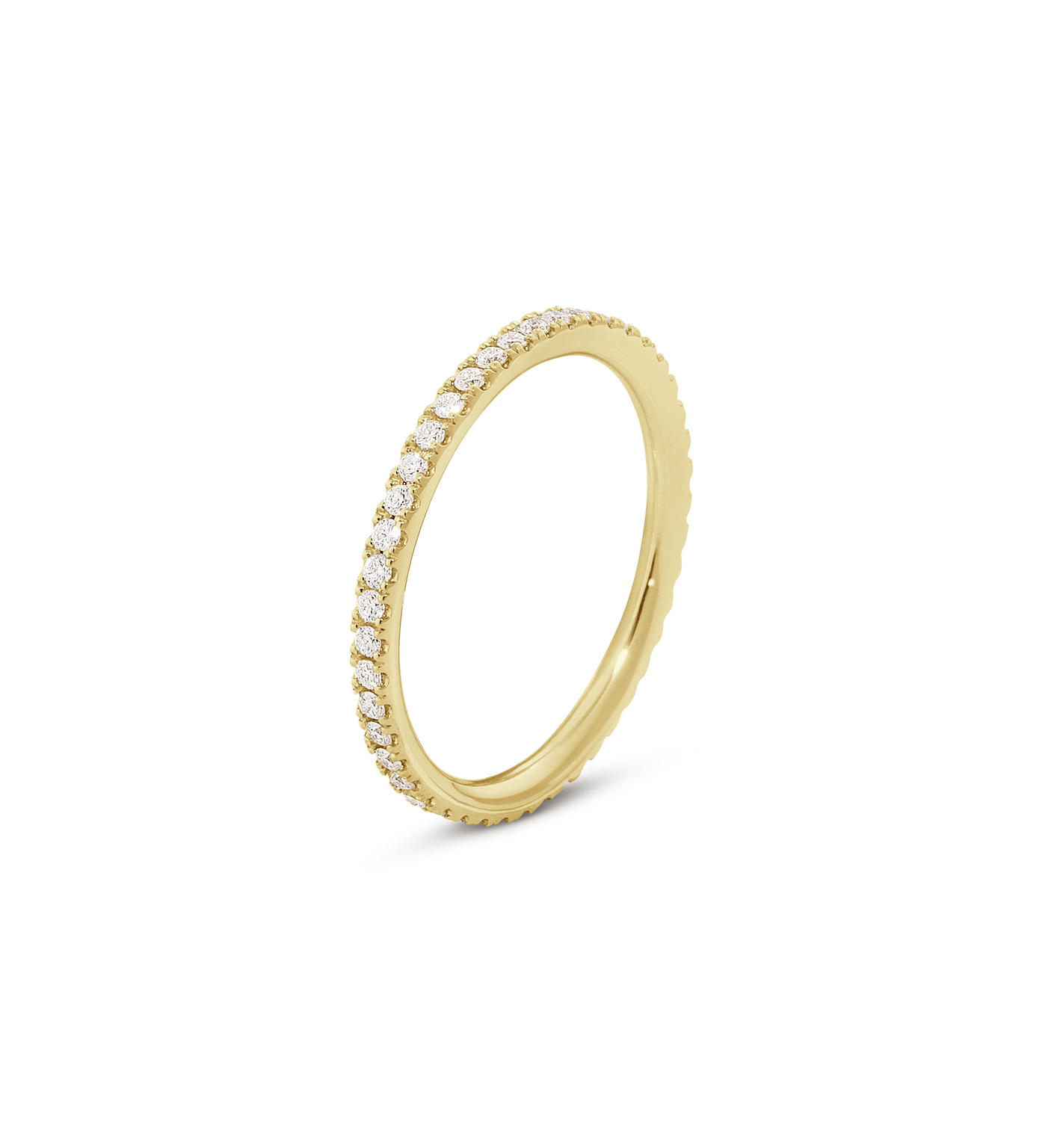 Georg jensen aurora ring - 3572720 18 kt rdg / ialt 0,25 ct 58 fra georg jensen - smykker fra brodersen + kobborg