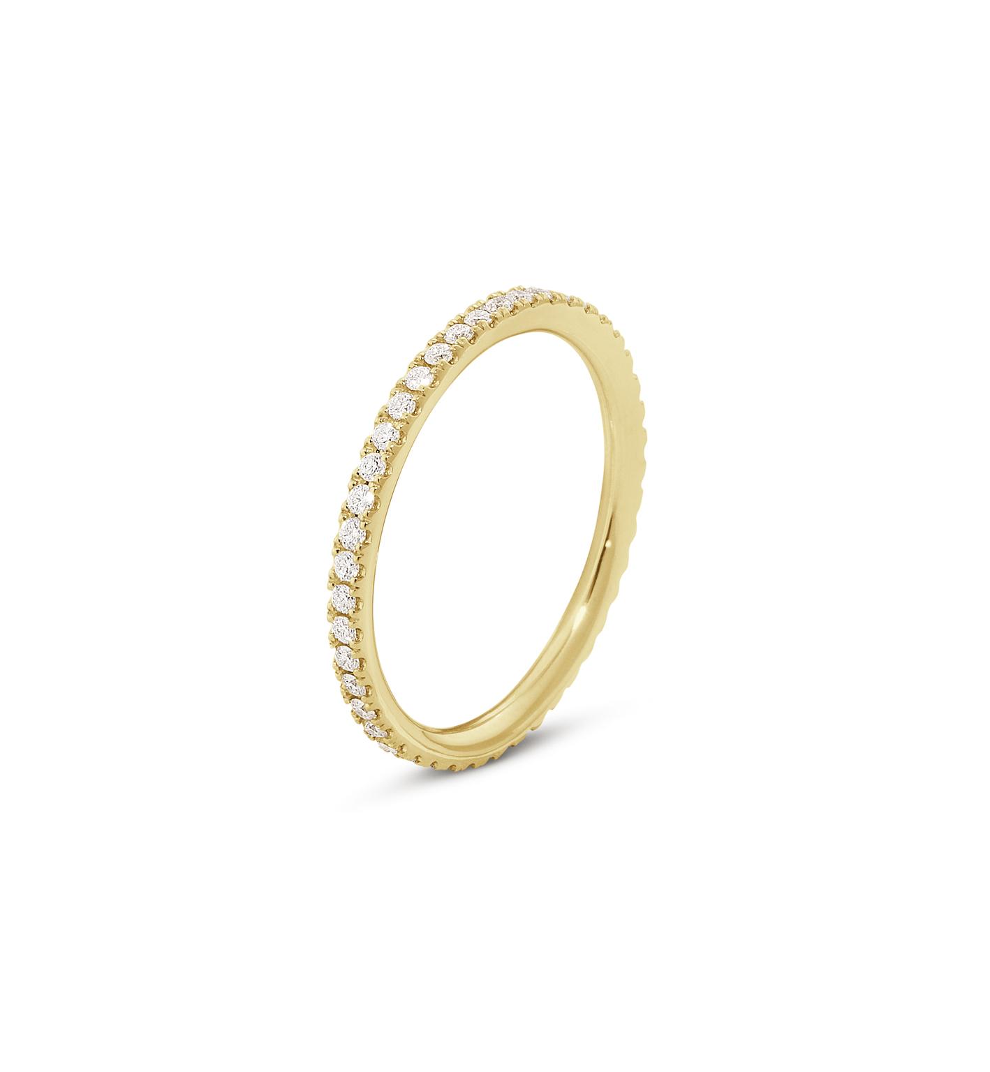 Georg Jensen AURORA ring - 3572720 18 kt rdg / ialt 0,25 ct 58