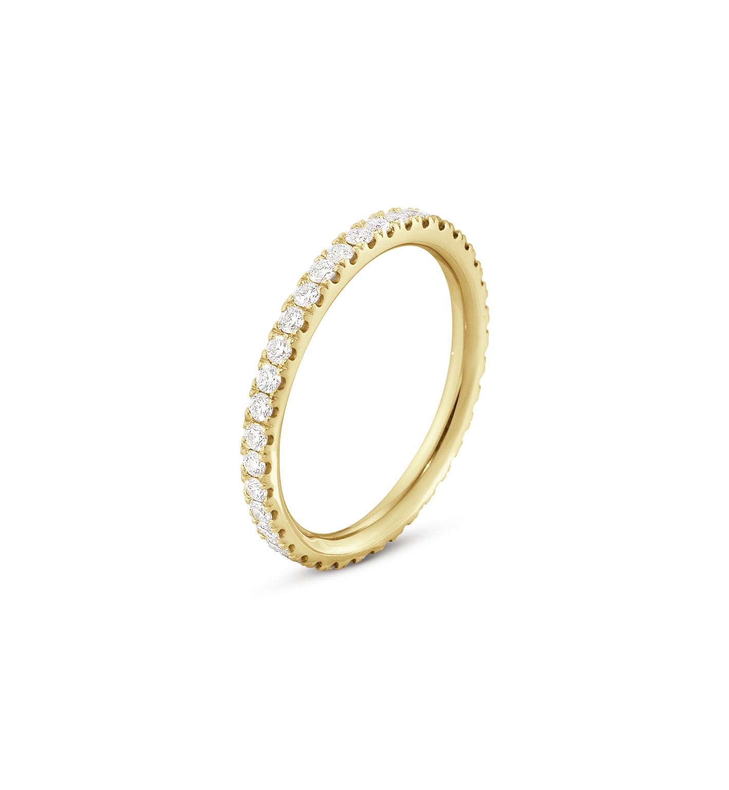 Georg Jensen AURORA ring - 3572700 18 kt / 0.52 ct 55