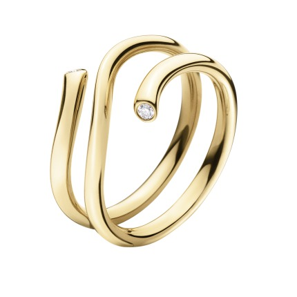 Georg Jensen MAGIC ring - 3569740 0.04ct 54