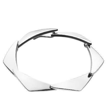 Georg Jensen PEAK armbånd i sølv - 3530670 Sølv 6 led S/M