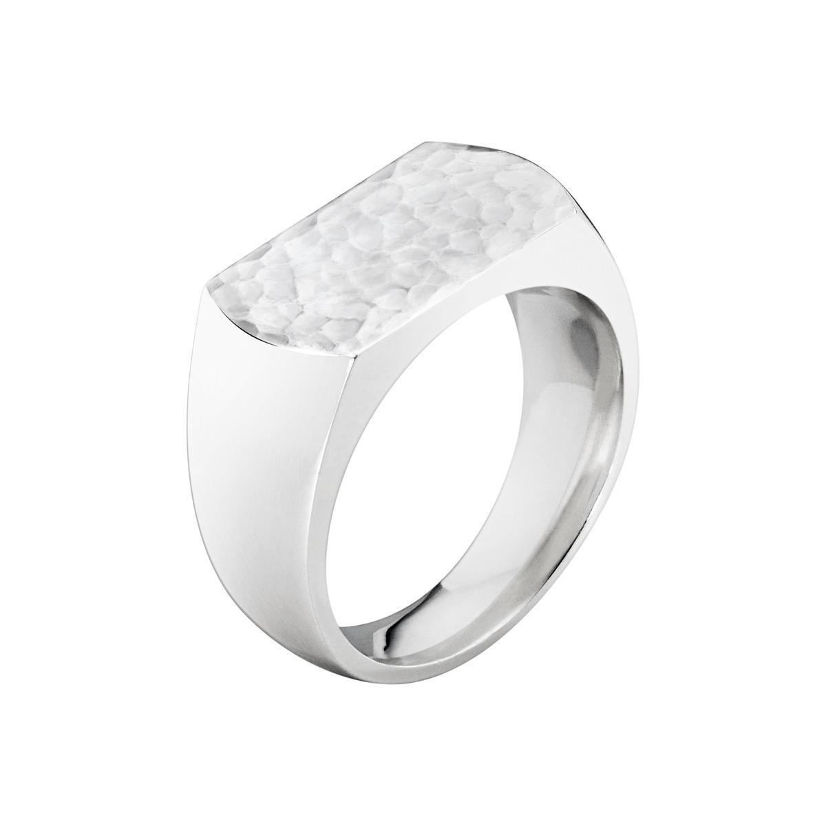 Georg jensen smithy herre ring - 3560080 sølv 63 fra georg jensen - smykker på brodersen + kobborg