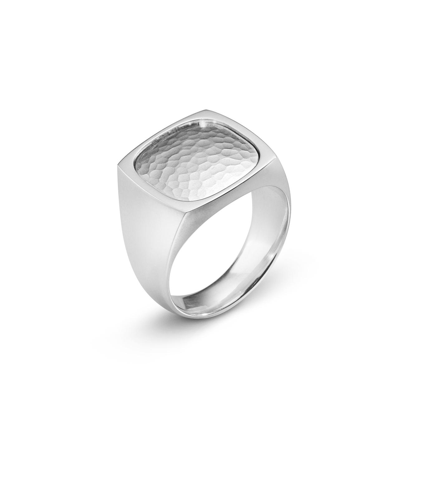 Georg jensen herre smithy ring - 3560580 sølv 60 fra georg jensen - smykker fra brodersen + kobborg