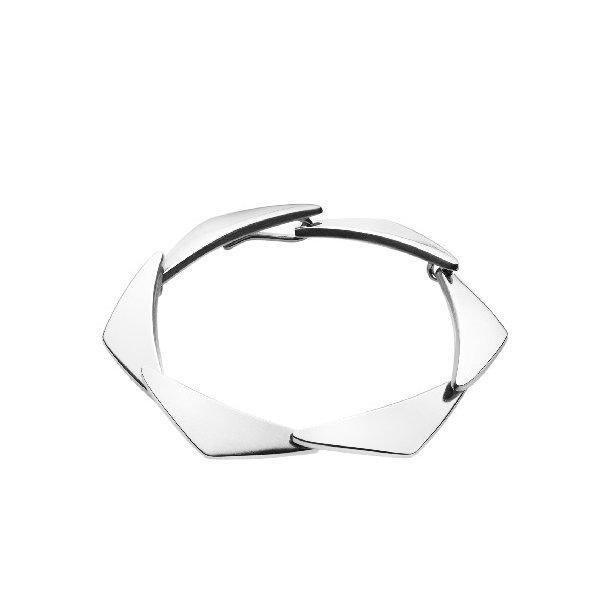 Georg Jensen PEAK armbånd i sølv - 3530670