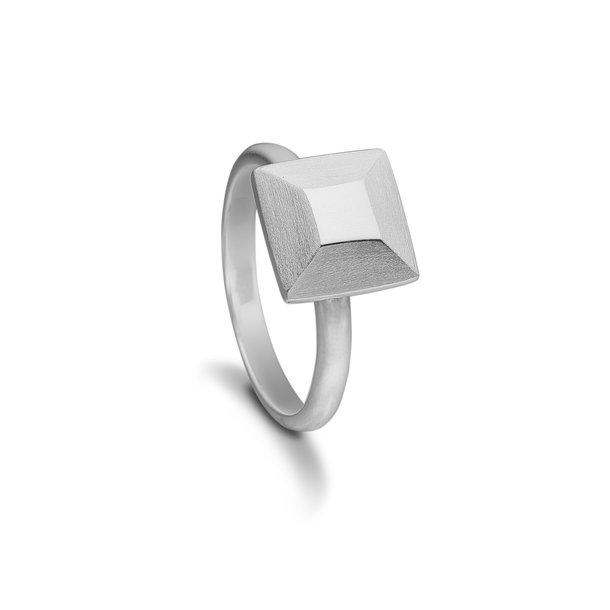 Kranz & Ziegler Sølv ring square - 4005791