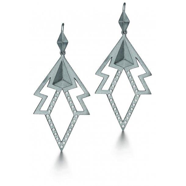 Kranz & Ziegler Sølv ørehænger - 6211423