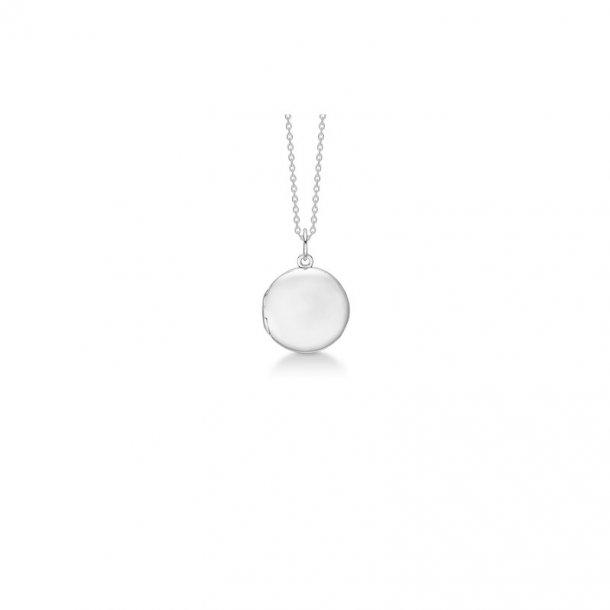 Sølv vedhæng med kæde Locket - 2120069