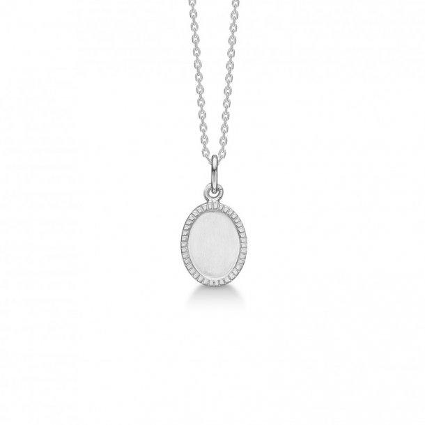 Sølv vedhæng med kæde Victorian - 2120121