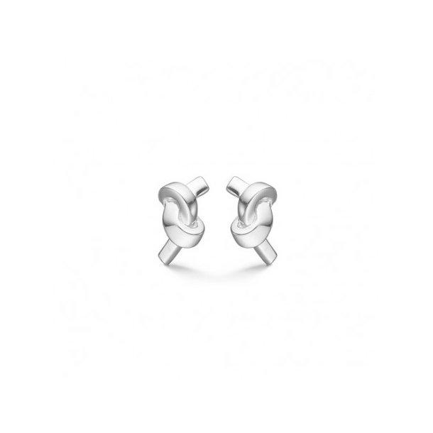 Sølv ørestikker Knot - 3110110