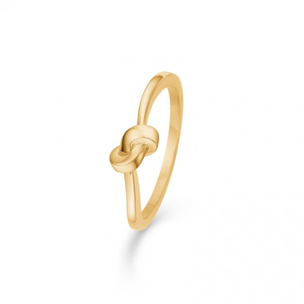 8 kt ring Knot - 3340110