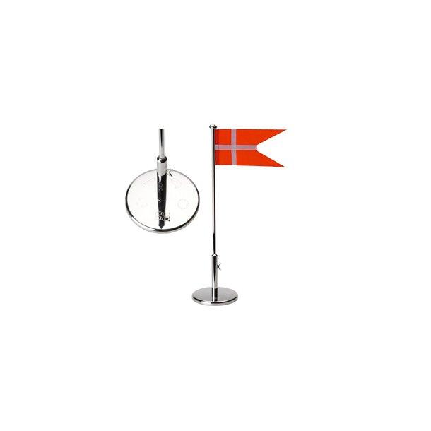Sølvplet Flagstang 30cm - Dåb - 150-87023