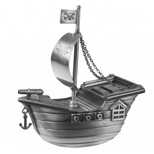 Fortinnet sparebøsse sørøverskib - 152-76259