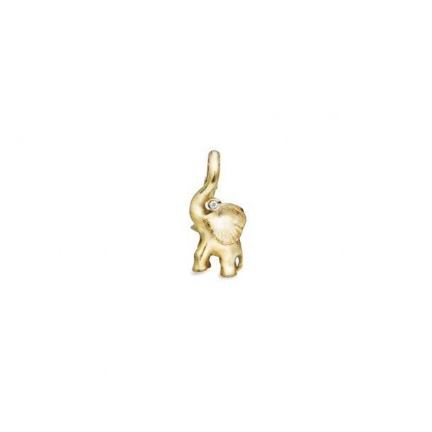 Ole Lynggaard Elephant charm - A1383-401