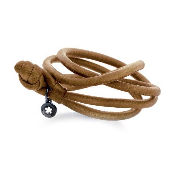 Ole Lynggaard Camel læderarmbånd - A2528