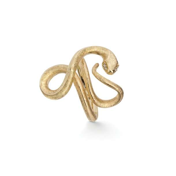 Ole Lynggaard Snake ring   - A2674-401