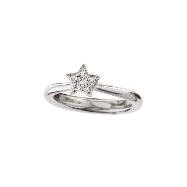 Ole Lynggaard Stars ring i hvidguld - A2739-501