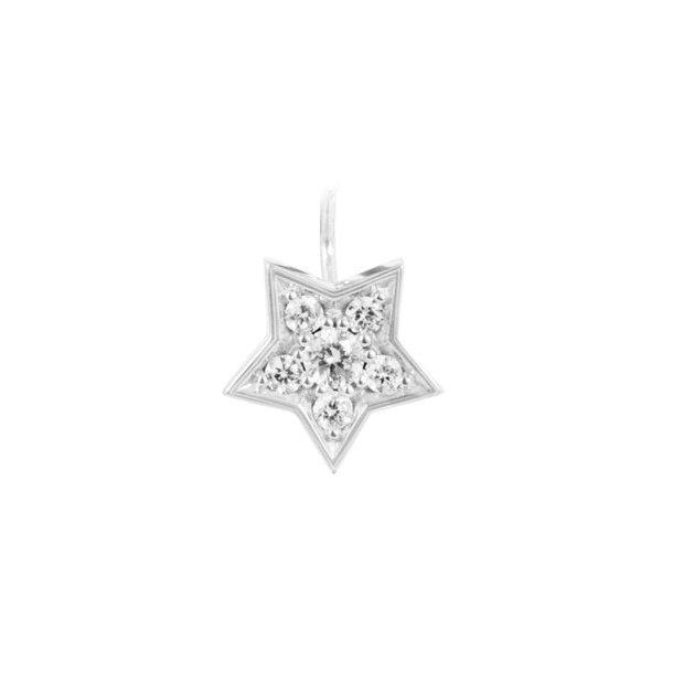 Ole Lynggaard 18 kt Star ørestik vedhæng - A2751-502