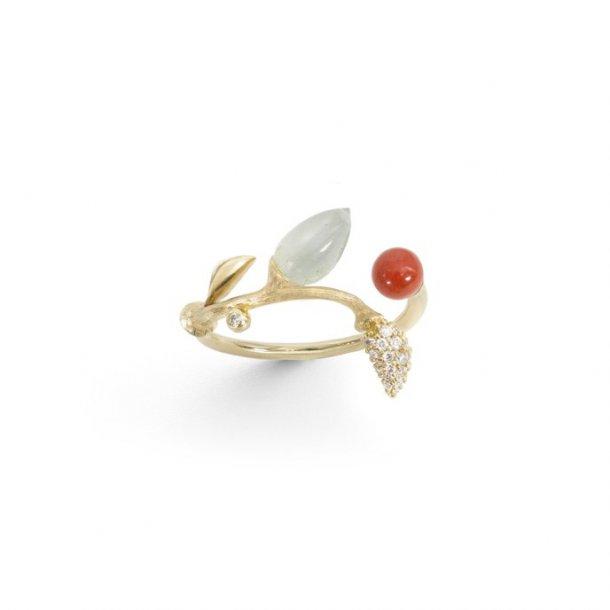 Ole Lynggaard Blooming ring - A2884-401