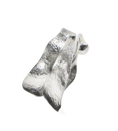 Ole Lynggaard medium Blad Ring poleret sølv - A3009-301 Pol sølv 57