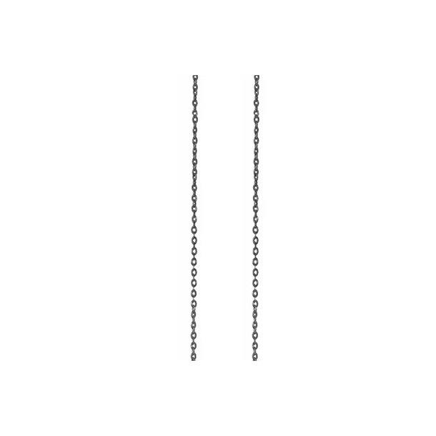 Ole Lynggaard Oxyderet sølv anker kæde  - C0071-301