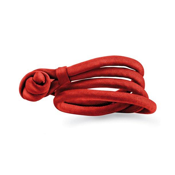 Ole Lynggaard Orange silkearmbånd - A2543