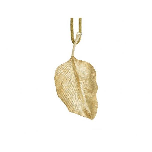 Ole Lynggaard 18 kt  gult guld Leaves vedhæng - A2617-402