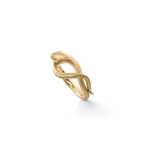 Ole Lynggaard Snake ring S - A2672-401