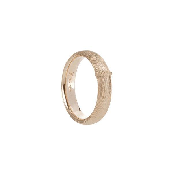 Ole Lynggaard Nature herre ring i rødguld - A2688-401