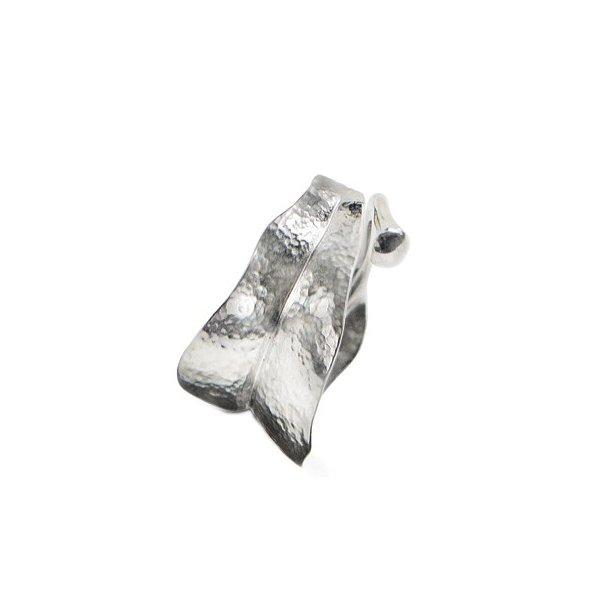 Ole Lynggaard medium Blad Ring poleret sølv - A3009-301
