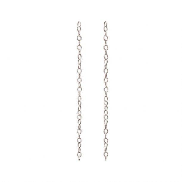Ole Lynggaard snoet oxyderet sølv kæde - tynd - C2008-305