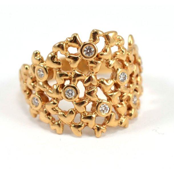 Per Borup Heart Ring - 937RY