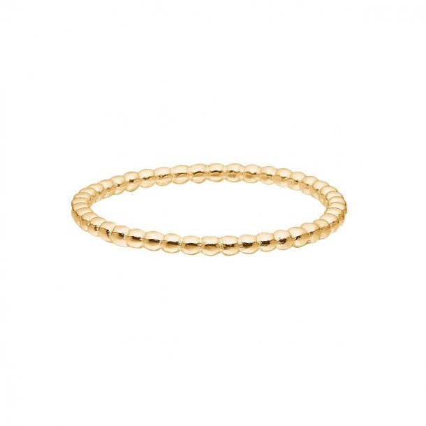 Enamel simple bubble ring - R19G