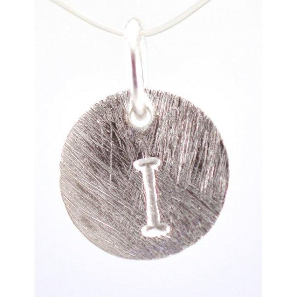 Sølv vedhæng med bogstav - 1511-1-I