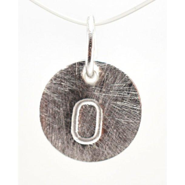 Sølv vedhæng med bogstav - 1511-1-O