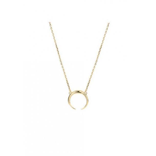 Maria Black Tusk halskæde i guld - 300084HP