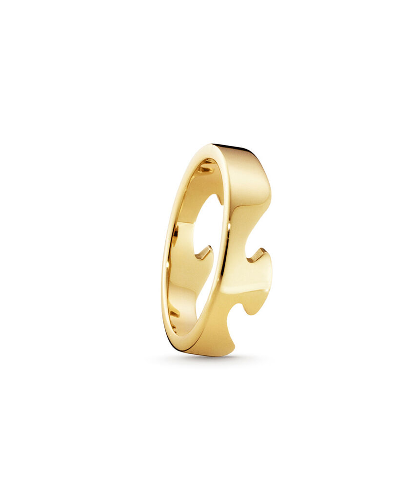 Georg Jensen Fusion ring - 3541680 Rødguld 55