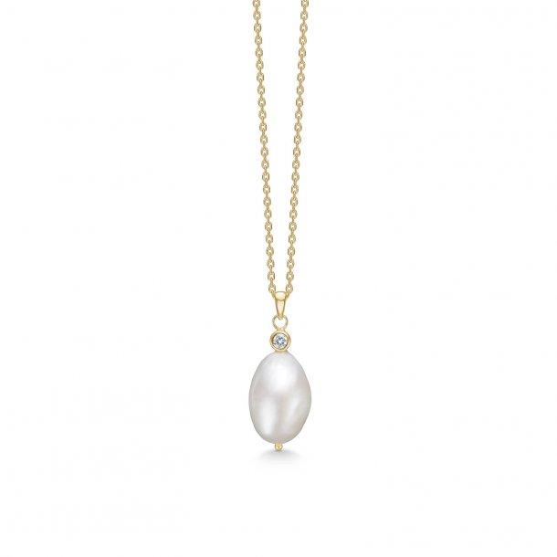 Mads Z  perle halskæde - 8223230
