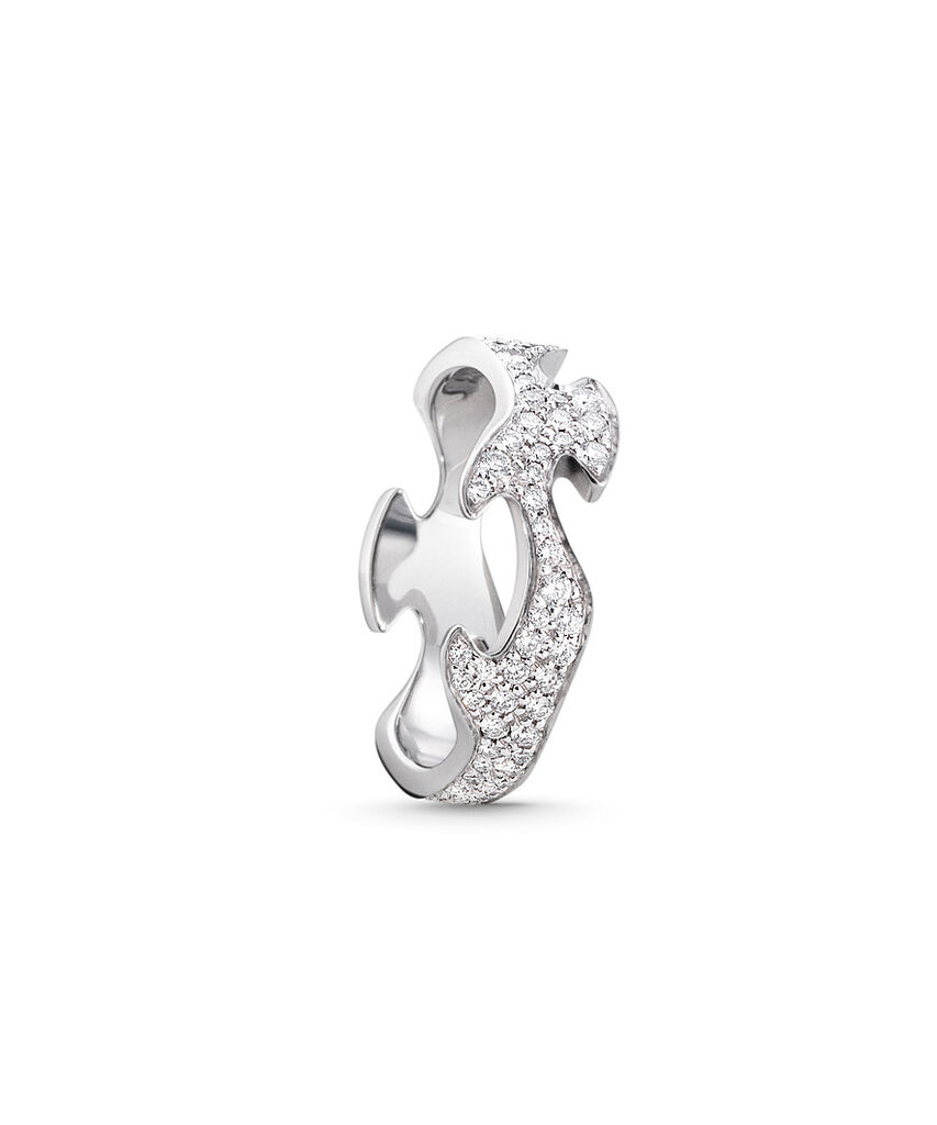 Georg Jensen Fusion ring - 3569280 0,71 / hvg 54